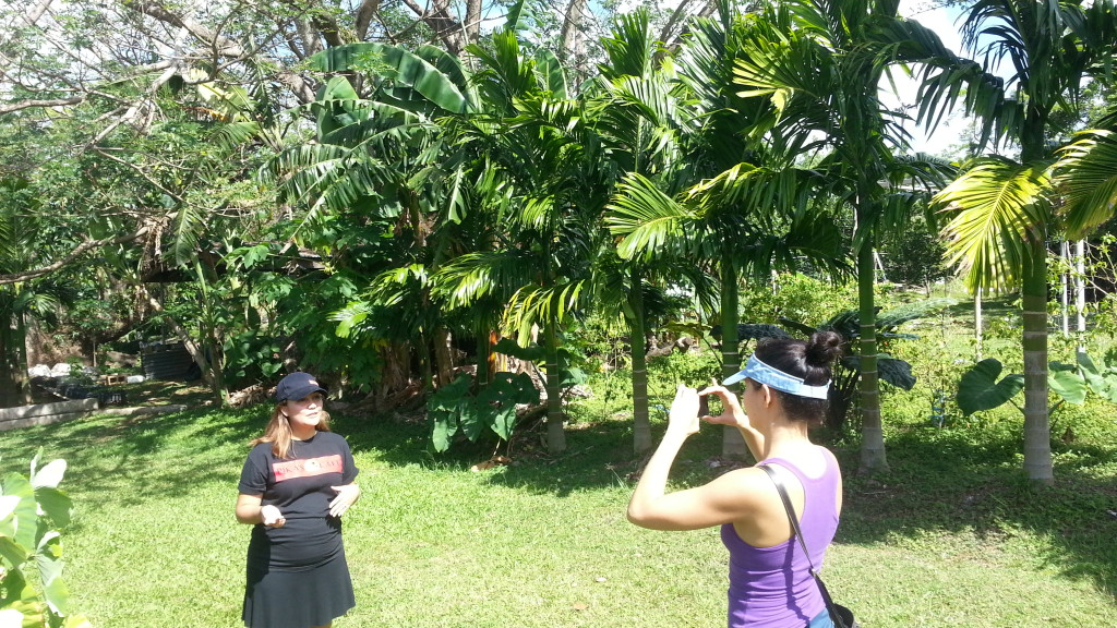 Pikas Interviewing Farm to Table Guam