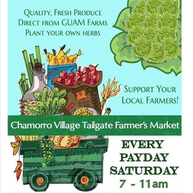 Chamorro Village Tailgate Farmers Market Flyer