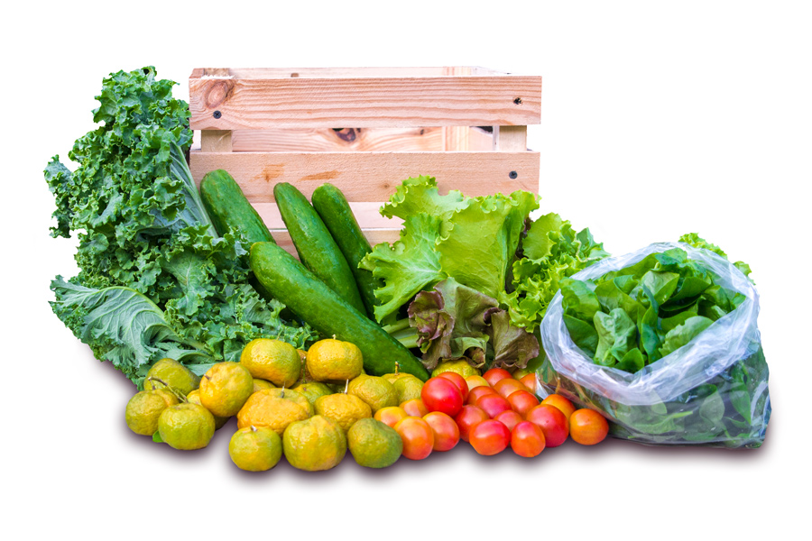 Farm to Table Guam CSA Subscription Box, small share