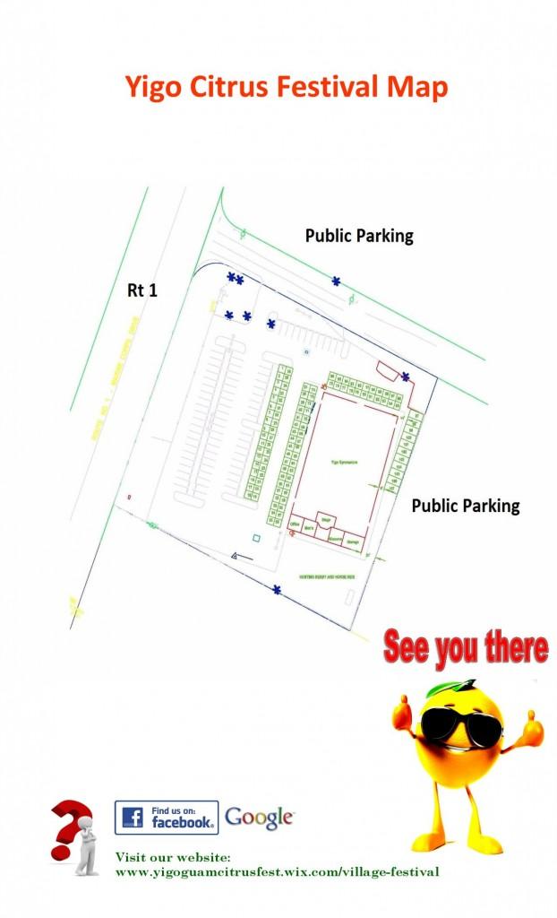 Yigo Citrus Festival Map