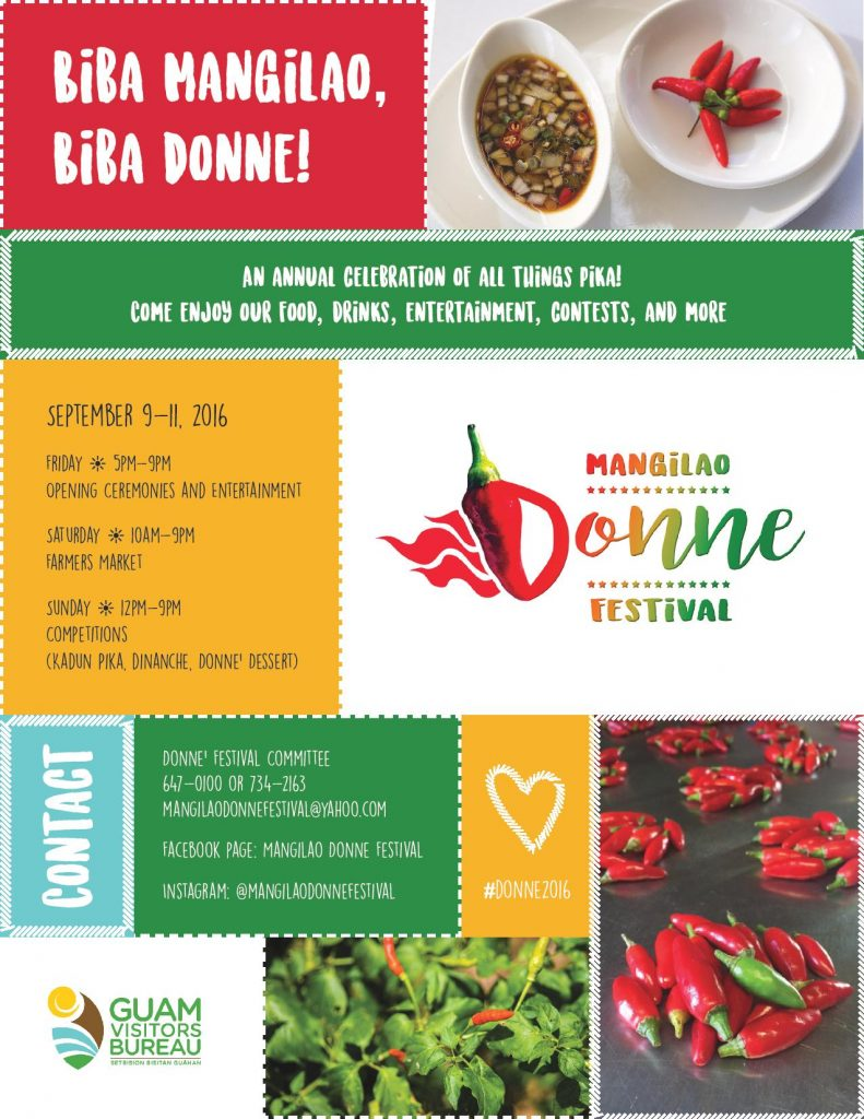 Mangilao Donne Festival Flyer